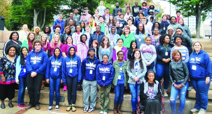 Statewide youth  council conference centers on service