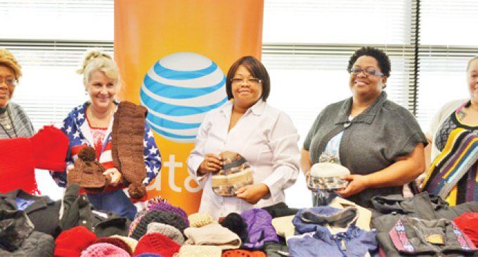Employee donations keep vets warm