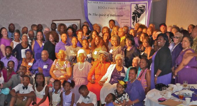 Hauser Williams Russell Family celebrates 100 years of reunions