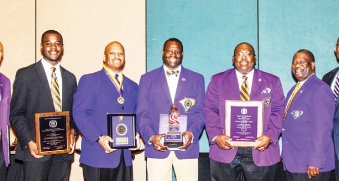 Sixth District of Omega Psi Phi Fraternity brings home international awards