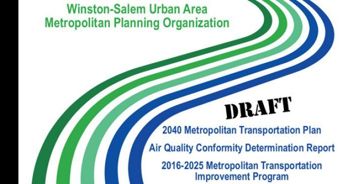 Comments sought on Transportation Plan