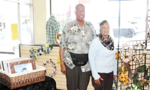 Couple living artistic dreams in retirement