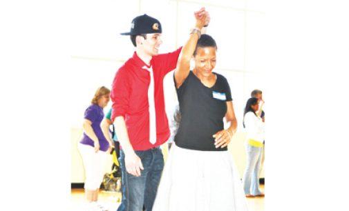 Residents increase  social capital by  dancing