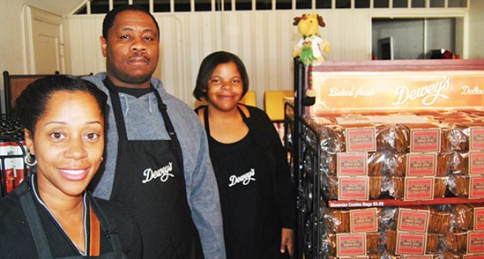 New Dewey's store joins downtown for the holidays