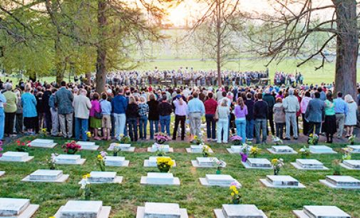 God's Acre Easter service is a sight to see