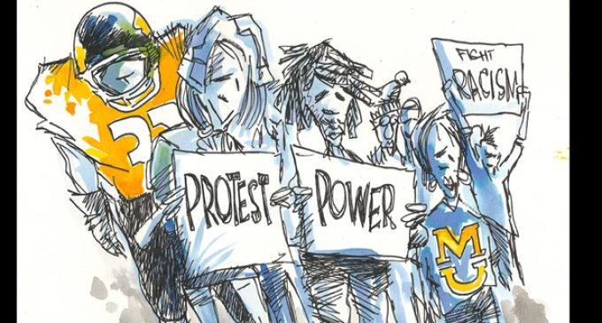FORUM: 'Ferguson Virus'  SEC college Sports Scared Shirtless