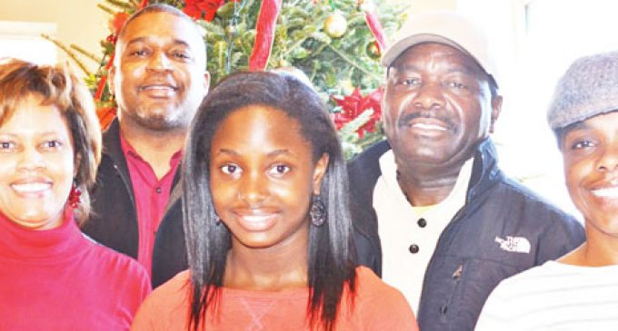 Girl with big heart plans holiday meal