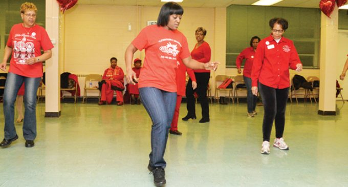 Daylong heart health push draws hundreds