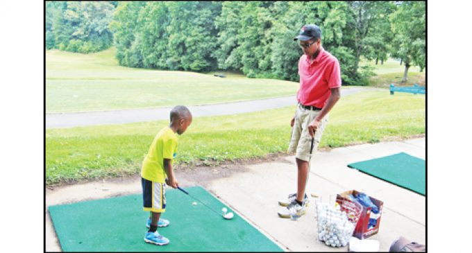 Camp Continues to Tout Golf