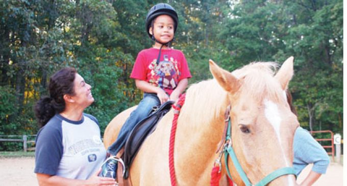 Center provides horseback therapy