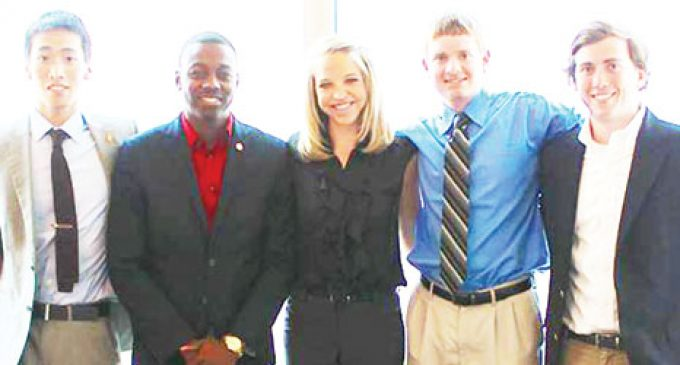 Investment firm selects college interns