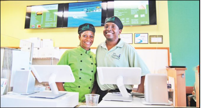 Couple put skills to good use at new eatery
