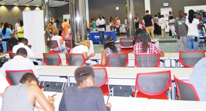 Job fair exclusively for young people draws big crowd