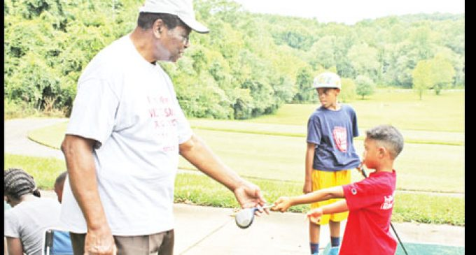 Johnson wraps another youth golf clinic