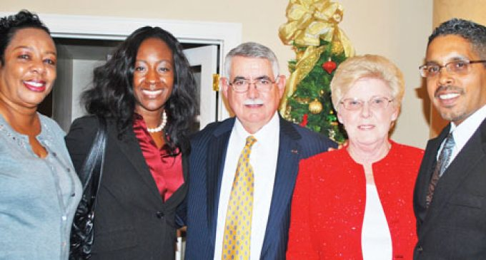 Droves come out for judge's send-off celebration