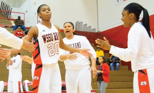 Ambitious Lady Rams win first CIAA game