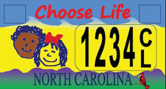 Abortion license plate fight goes on