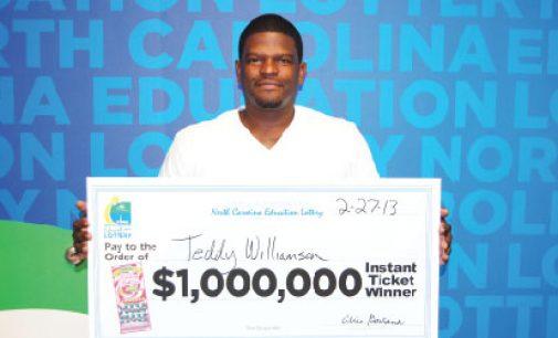 Greensboro barber wins  $1 million