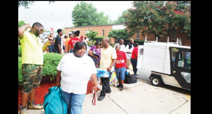 Entering to Learn /Freshmen move in at WSSU