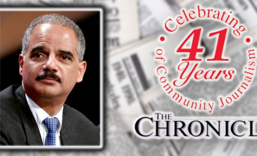 Holder says Clinton is the right choice for president