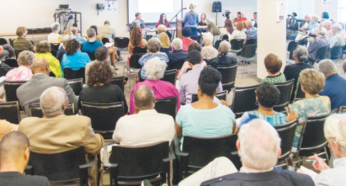 Voter ID law hearing draws large crowd in Winston-Salem