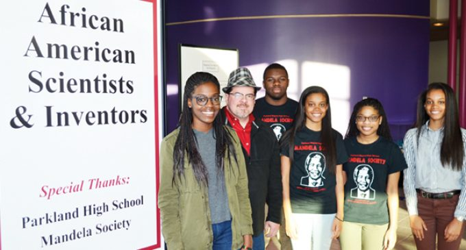 Exhibit shows contributions of  Parkland's Mandela Society