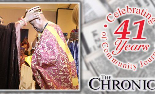 Triad leader installed a chief of Nigerian kingdom