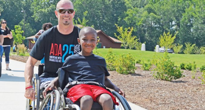 Officials join residents to mark 25th anniversary of the Americans with Disabilities Act