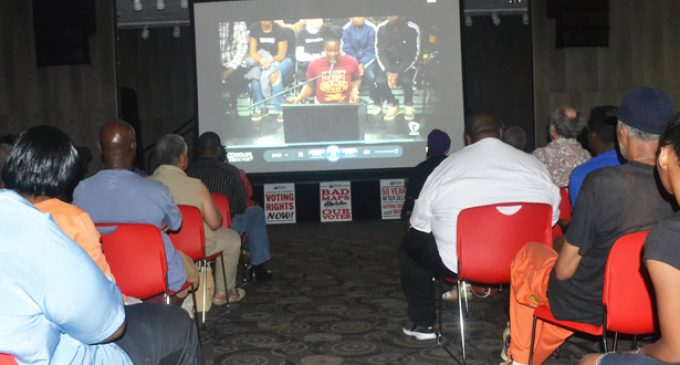 Film showing at WSSU draws huge crowd before Moral Monday march