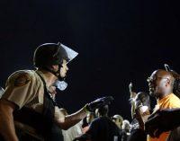 Shooting, protests put Ferguson on edge