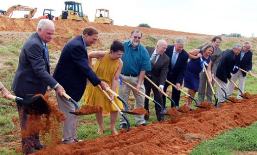 Forsyth Tech groundbreaking ceremony officially launches construction on new Stokes County center