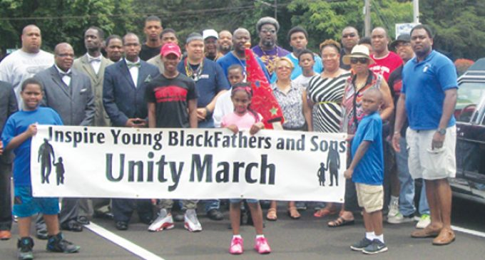 """'Honor Your Father"""" march and speaker center on support"""