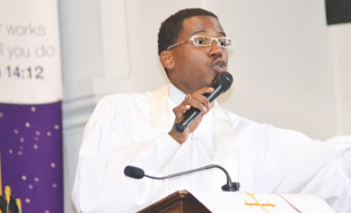 Politicians are in the pulpit in Winston-Salem