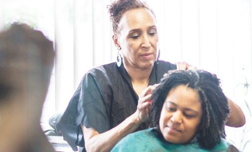 A new twist: Natural hair in the work place is  becoming more popular