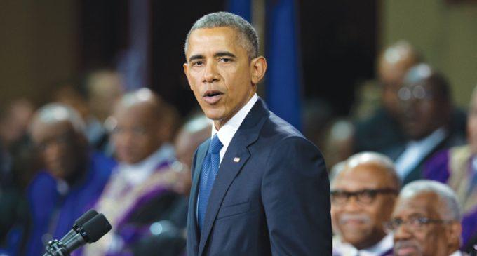 Text of President Obama's eulogy for the Rev. Clementa Pinckney