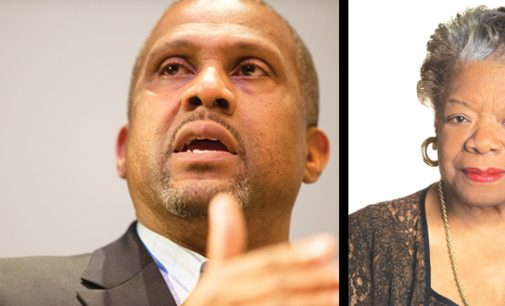 'Maya Angelou chose to love me,' Tavis Smiley said of his friend