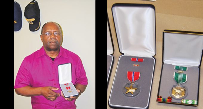 Veteran receives overdue medals, but continues to fight for benefits