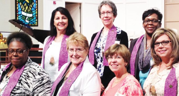 Congregational nursing course graduates six