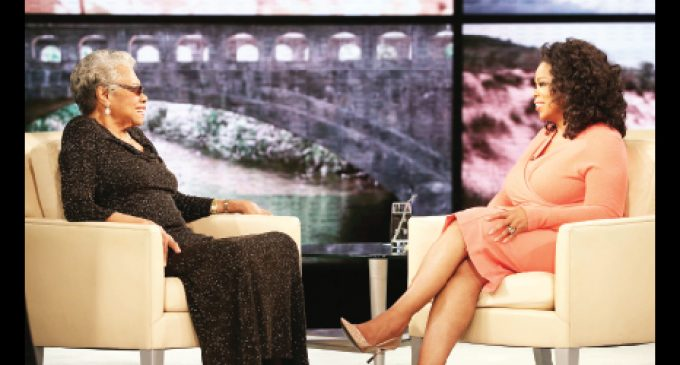 Angelou and Winfrey to sit down  for special Mother's Day chat