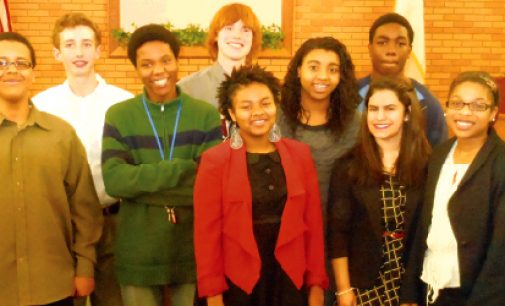 Student orators shine  in Optimist competition