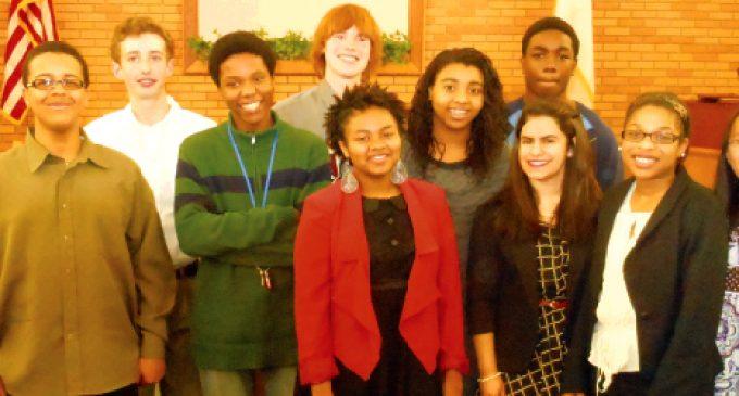 Student orators shine  in Optimist competition