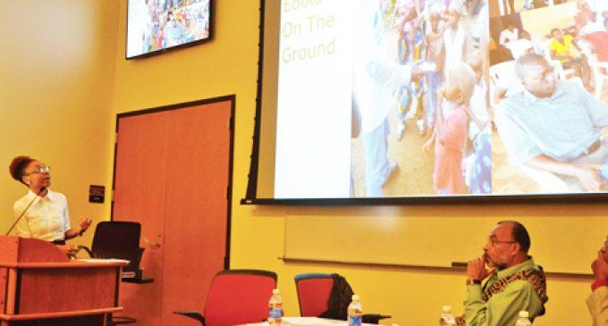 WSSU panel tackles Ebola