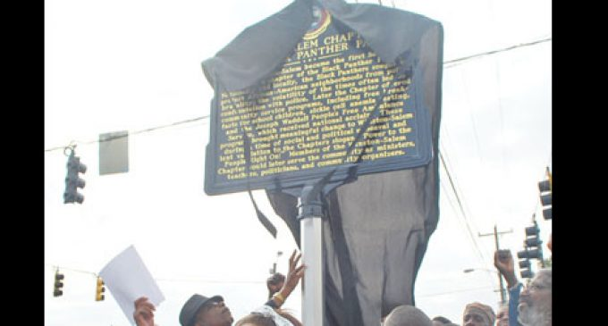 Black Panthers' legacy  honored with marker