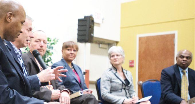 Pastors discuss race at forum