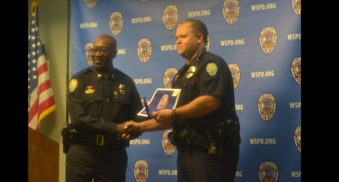 Police Department awards officers for life-saving actions