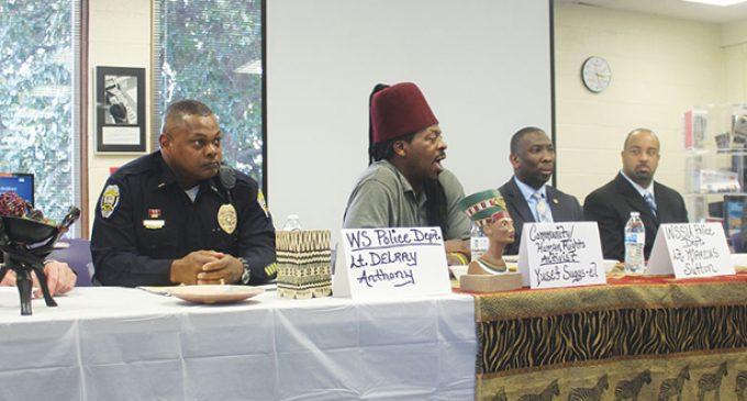 Community seeks answers regarding police