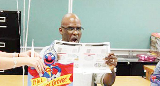 Surprise for Superhero principal