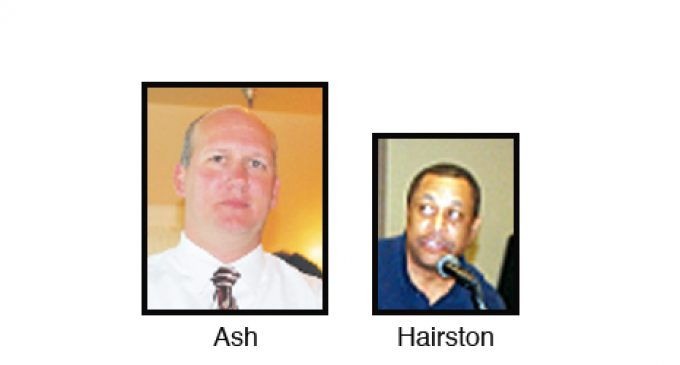 Principals Ash and Hairston receive new assignments