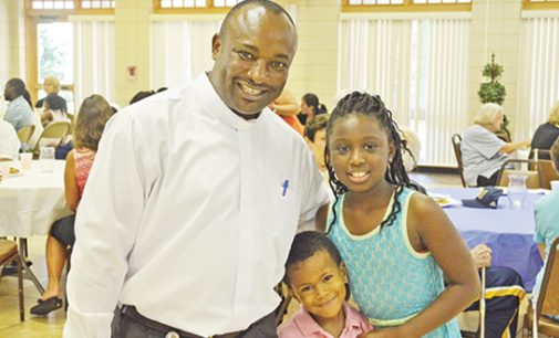 Father Basile Sede comes to St. Benedict the Moor as its new officiating priest