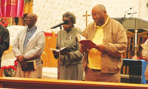 Mt. Zion Baptist, friends mark beginning of the Advent season